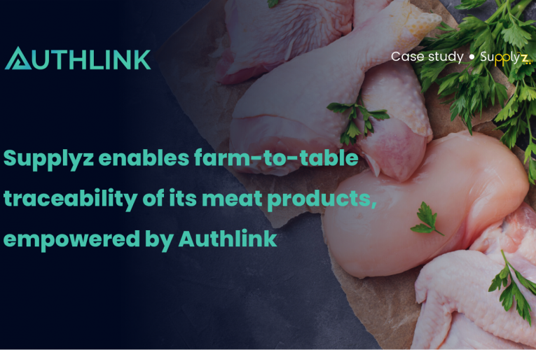 Supplyz enables farm-to-table traceability of its meat products, empowered by Authlink