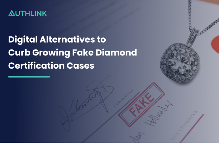 Digital Alternatives to Curb Growing Fake Diamond Certification Cases