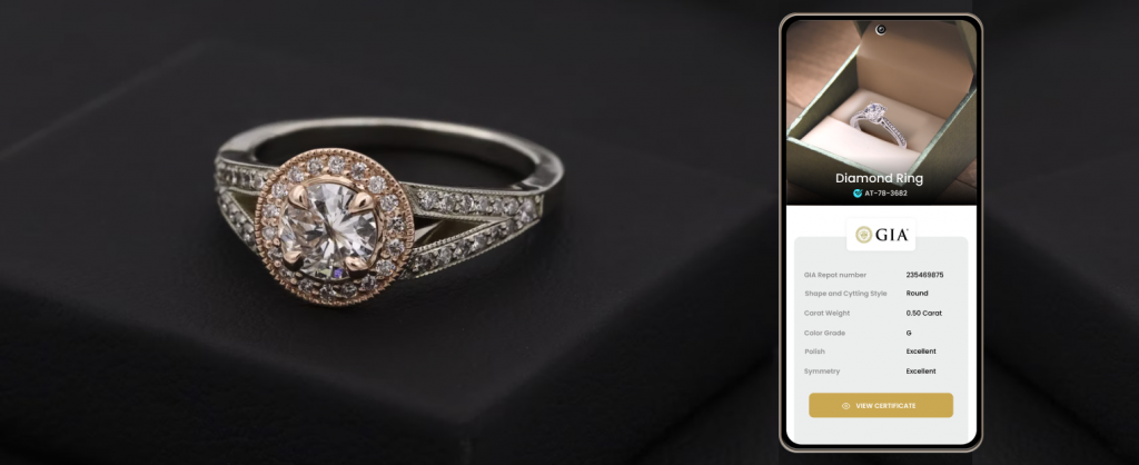 GIA certificates have been used for authenticity of diamond purchases.