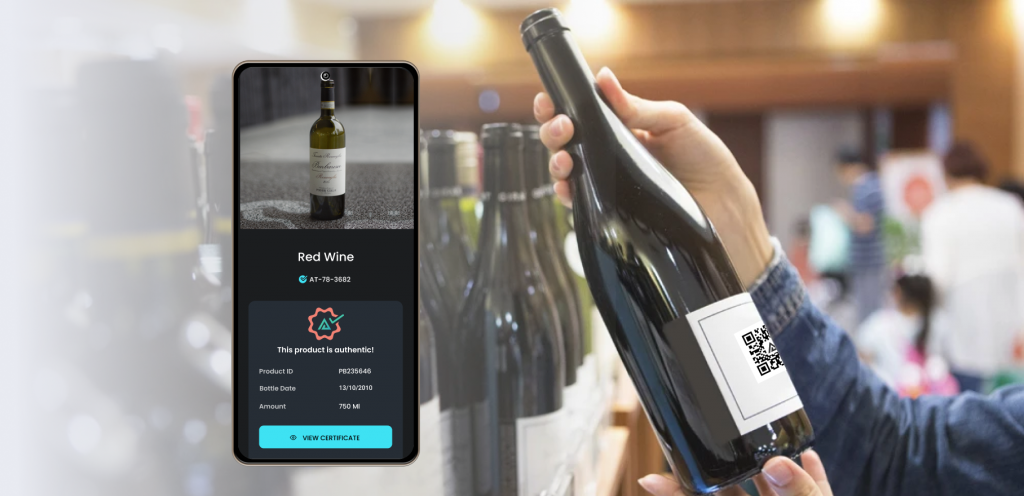 verifying wine and spirits authenticity